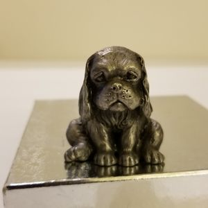 Pouty pewter puppy